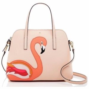 KATE SPADE STRUT YOUR STUFF FLAMINGO MAISE
